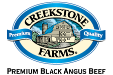 Cousins uses Creekstone Farms Natural Black Angus Beef